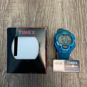 Timex Ironman Sport Watch New In Box Blue